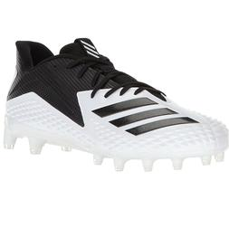 adidas Freak X Carbon Mid Football Cleats - White/Black Size