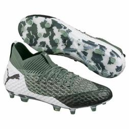 Puma Future 2.1 Netfit FG/AG Olive Green Soccer Cleats 10481