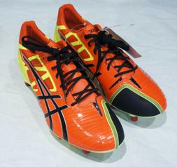 ASICS GEL LETHAL SPEED US MEN'S SIZE 9 CLEATS W/ REMOVABLE S