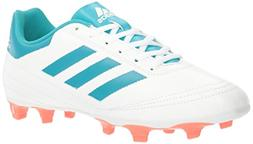 adidas Performance  Women's Goletto VI FG W Soccer Shoe, Whi