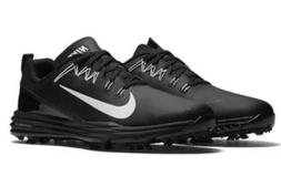 New Nike Golf- Lunar Command 2 Shoes Black/White Size 10 M 8