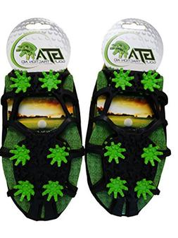 Due North Golf Traction Aid - Cleats for Turf - Removable Sp