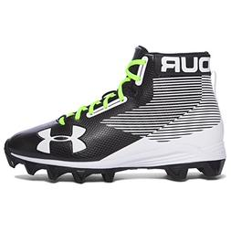 Under Armour Hammer RM Youth Football Cleats 6, Black/White