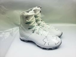 Under Armour Highlight  Football/Lacrosse Cleats White Youth