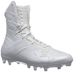 Under Armour Men's Highlight MC Football Shoe, /White, 12.5