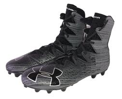 Under Armour Highlight MC Football Hi-Top Cleats Size 12 Bla