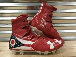 Under Armour Highlight MC LE Ohio Football Cleats Red White