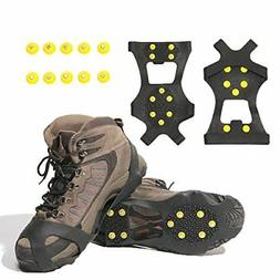 Ice Grips Traction Cleats SNOW Crampons Boots For Men & Wome