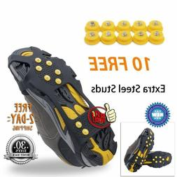 OuterStar Ice & Snow Grips Over Shoe/Boot Traction Cleat Rub