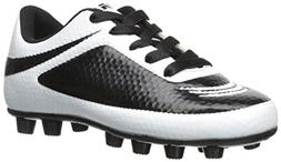 Vizari Infinity FG Soccer Cleat , White/Black, 8 M US Toddle