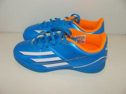 KIDS ADIDAS F5 IN J INDOOR SOCCER CLEATS SIZE 13K NWB F32742