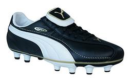 PUMA King XL i FG Boys Leather Soccer Boots/Cleats-Black-5