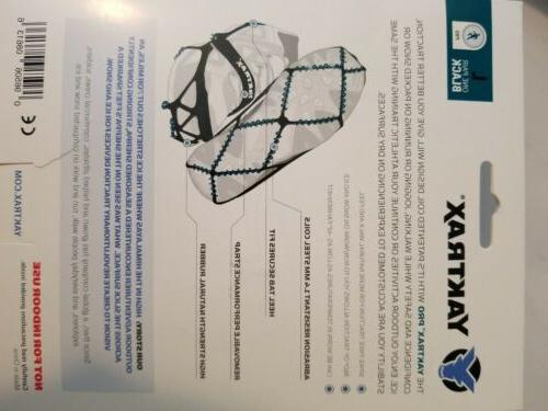 Yaktrax 08613 Cleats - Fits sizes