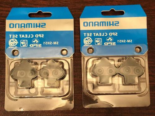 2 two pairs genuine sm sh51 cleats