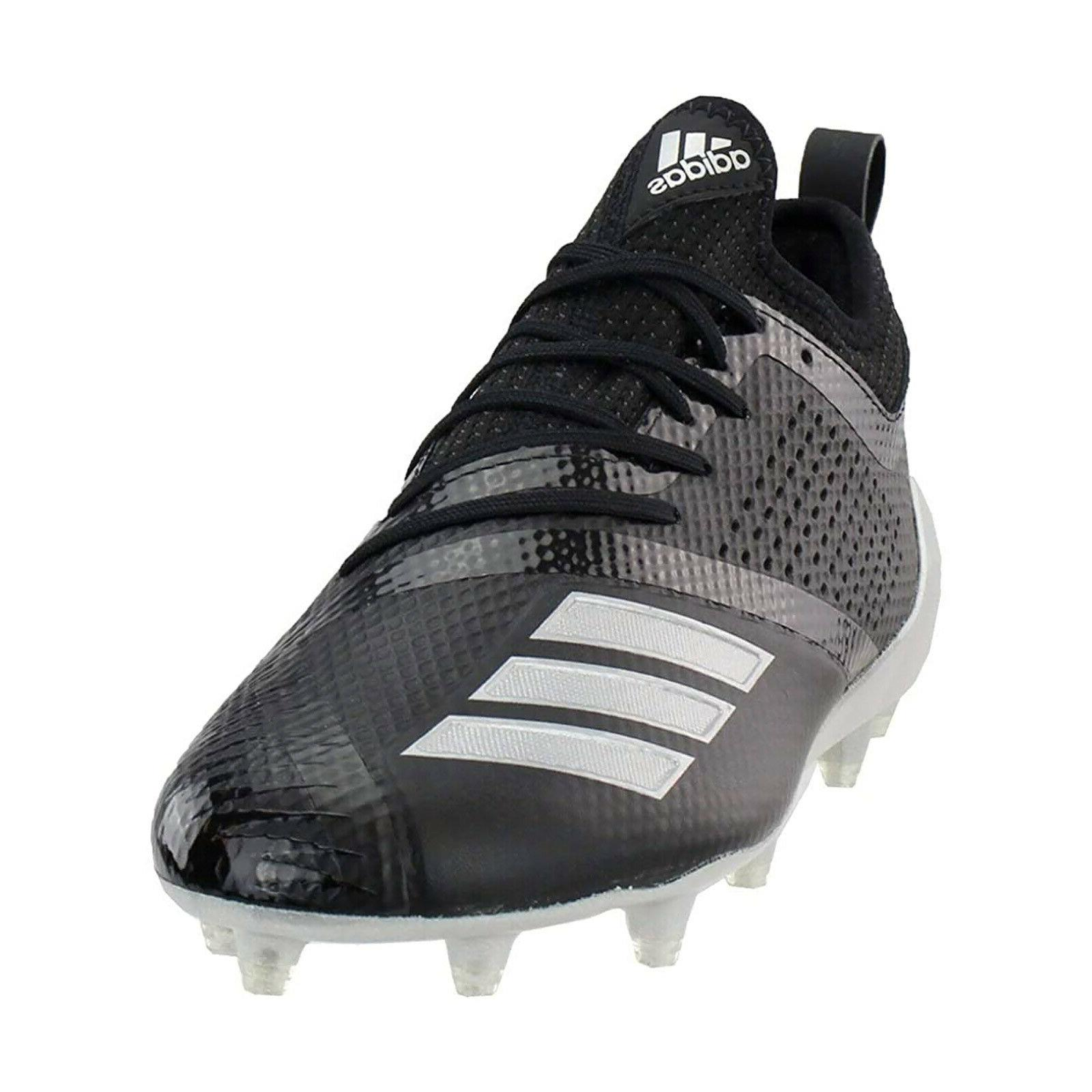 ADIDAS ADIZERO 7.0 LOW Cleats Football Black, SIZE