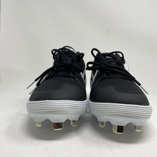 Nike Alpha Huarache 2 Metal Cleats Black AJ6873 001 Size 10