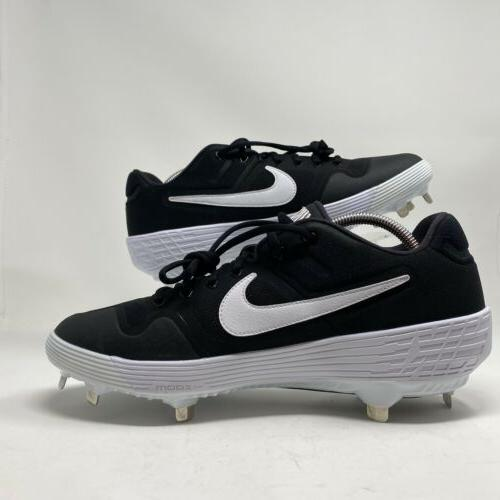 Nike Alpha Huarache Elite 2 Metal Cleats Size