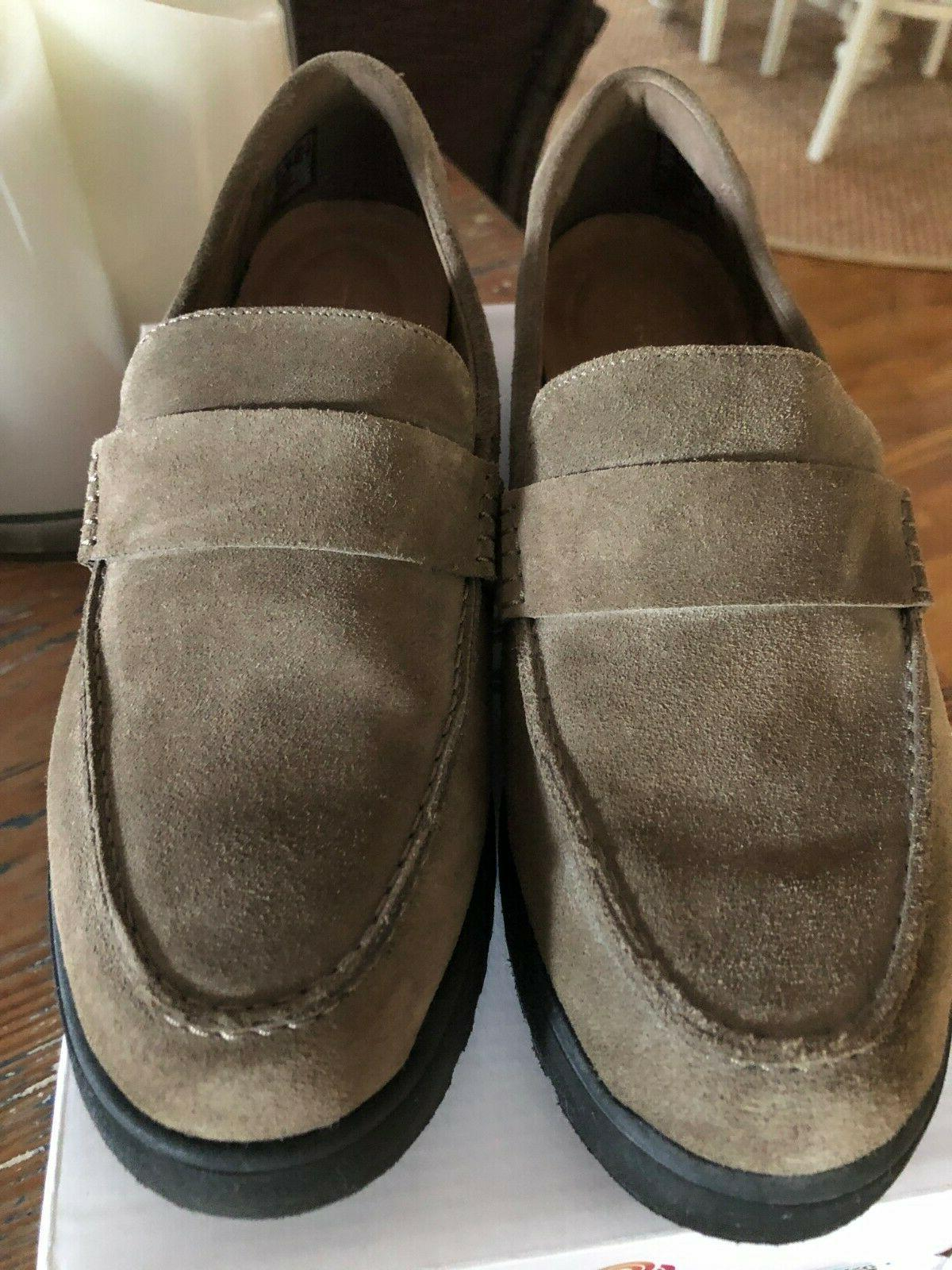 Clarks Artisan Cleated Loafers BELLEVUE 7W