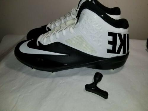 code pro 3 4 football cleats size