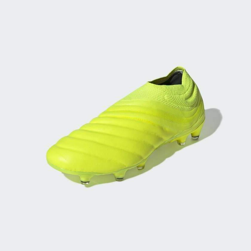 Adidas Fg Mens Firm Cleats yellow/Black 7-13
