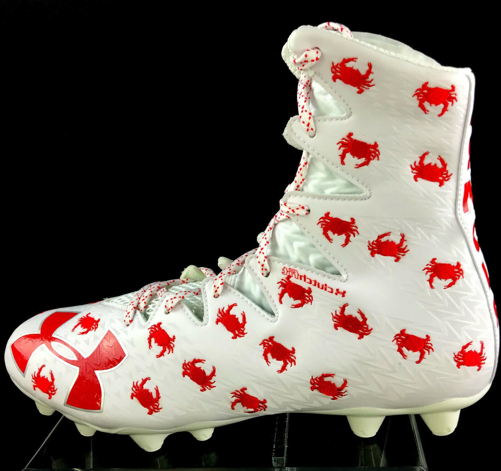 Under Armour Critter Crab Highlight Football Lacrosse Cleats