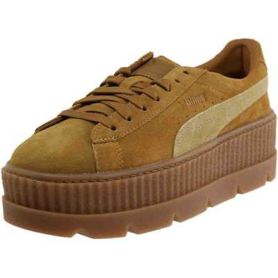 puma fenty by rihanna suede cleated creeper
