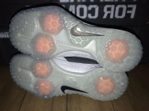 NIKE FORCE ZOOM 5 CLEATS PE PURE SIZE