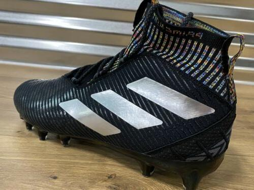 Adidas Football Black Silver Multi