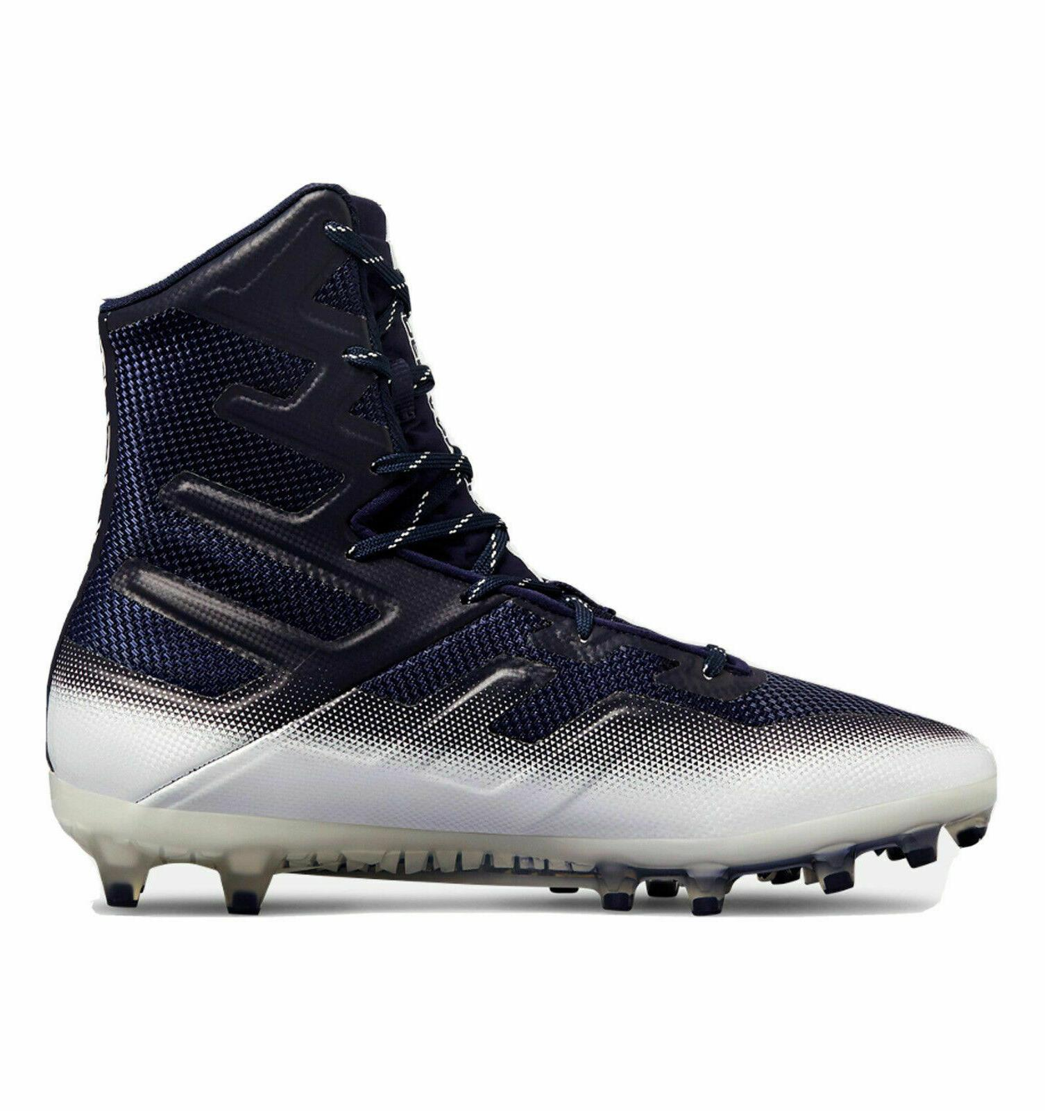 UNDER ARMOUR High Football BLACK & MORE SIZE