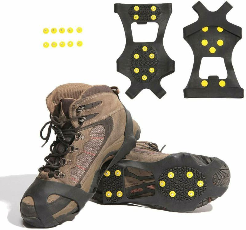Carryown Ice Cleats, Ice Grips Traction Cleats Grippers Non-