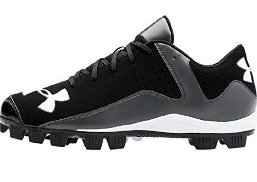 Men's Under Armour Leadoff Low RM Baseball Cleats Black/Char