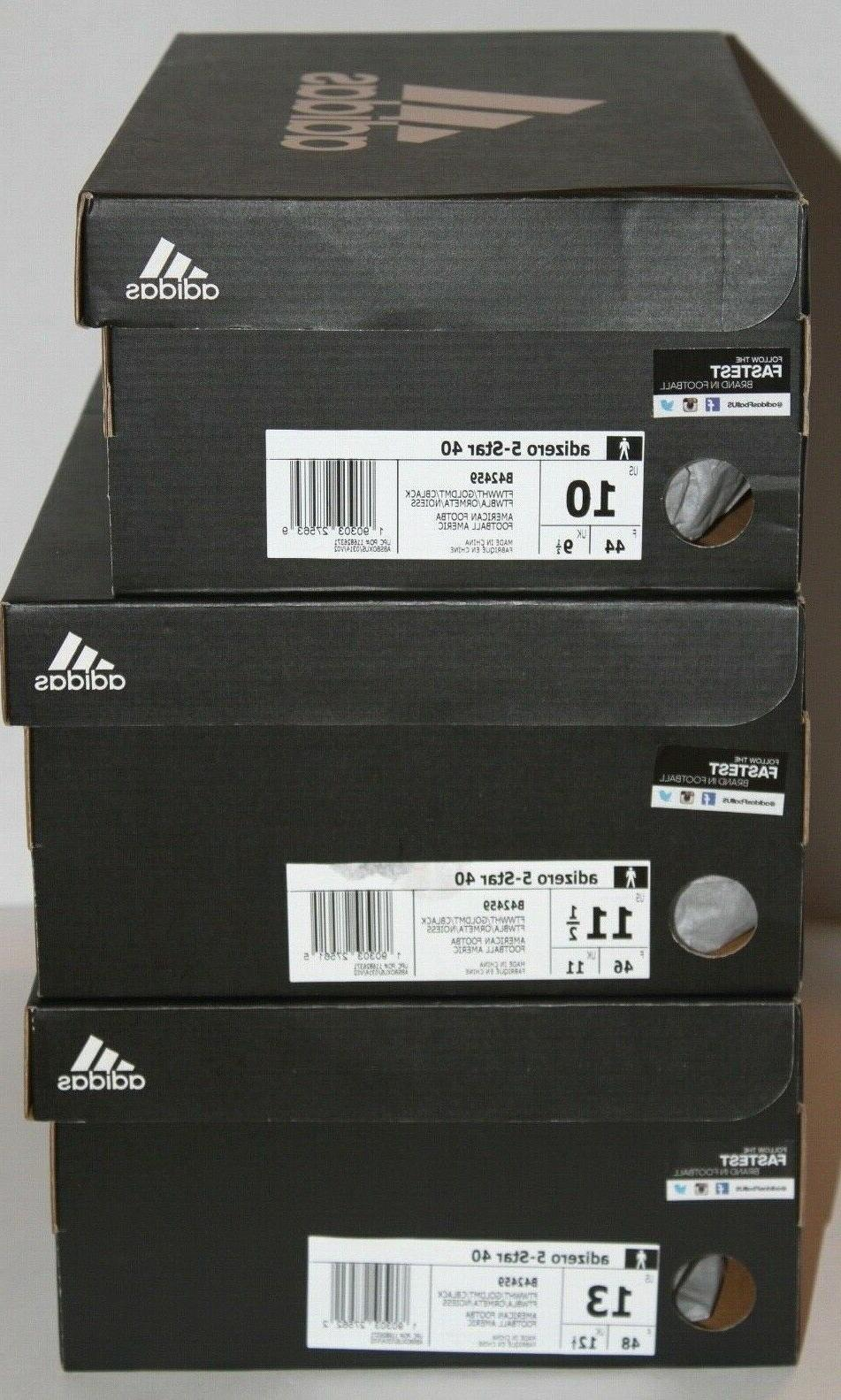 NEW Adidas 40 Leopard Football Cleats