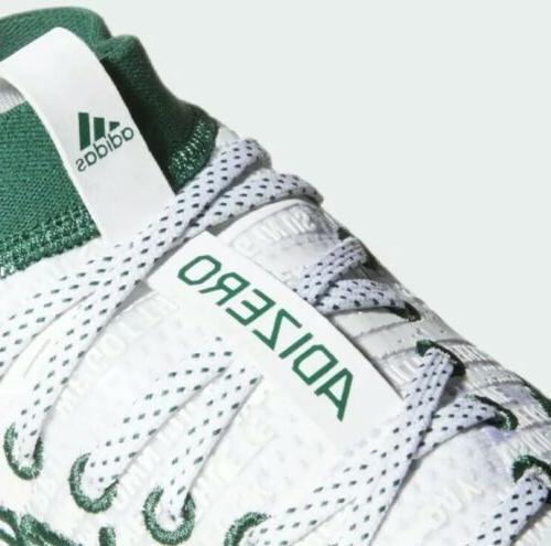 New Football Cleats Men's 10.5 Green White