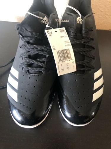 New Adidas cleats black size