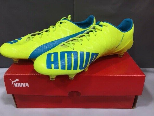 NEW! SL-S Soccer Safety Yellow/Blue Sz: 11