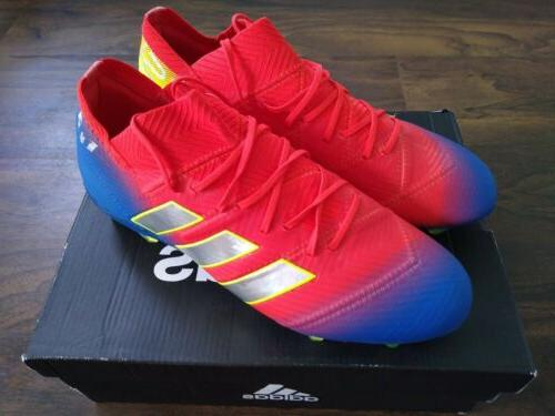 NEW Adidas 18.3 FG Soccer Cleats Red/ Men's Size