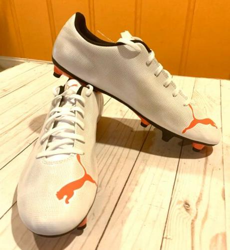 New Men's 12 Orange and Cleats Men Shoe Football