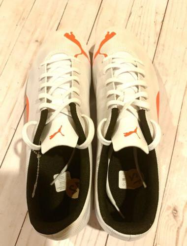 New Men's Orange and Men Shoe