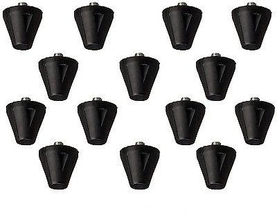 "3/4"" Plastic Football Replacement Cleats 14 Pack with Tool F"