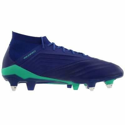adidas Athletic Soccer Soft Cleats Navy -