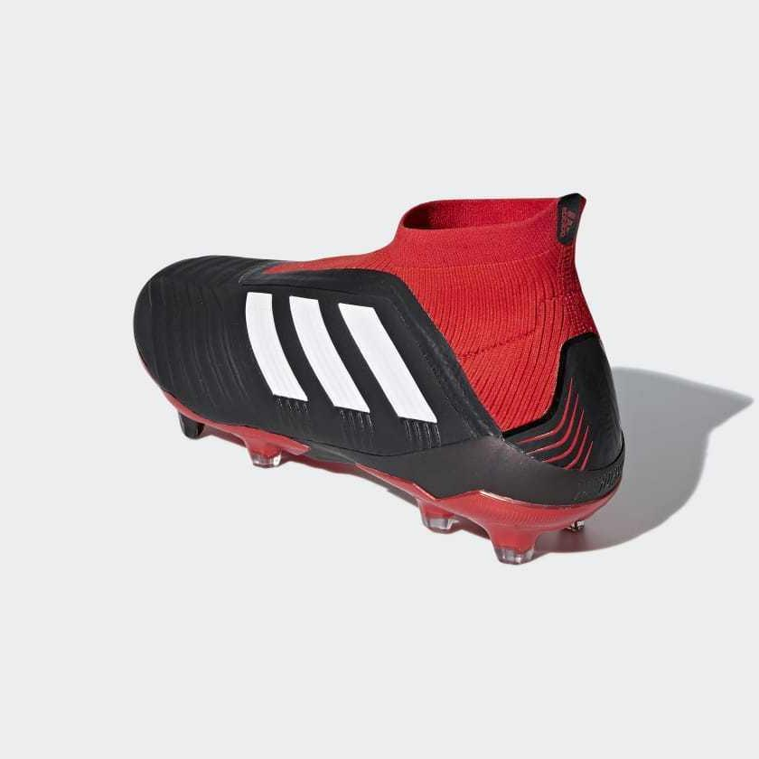 Adidas 18+ FG Men's shoes Cleats Black/Red/White