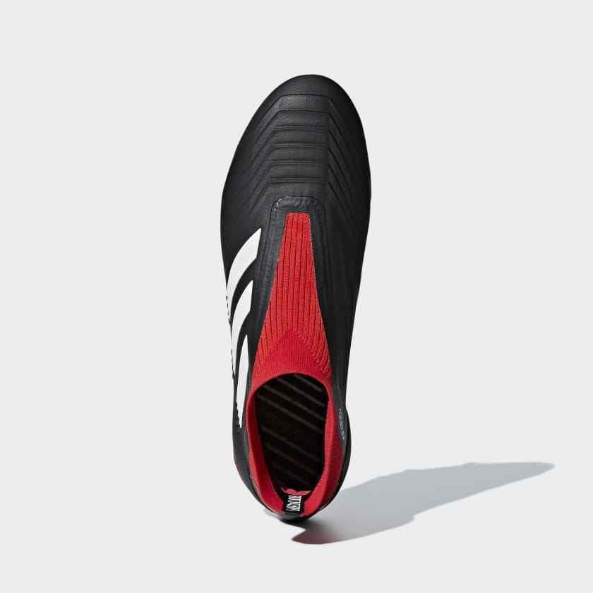 Adidas Men's Soccer shoes Black/Red/White