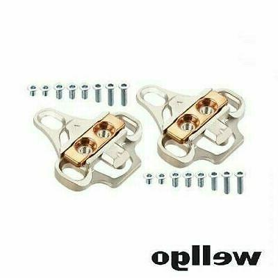 WELLGO RC-8 Cycling Shimano SPD Shoes Adapter Cleats