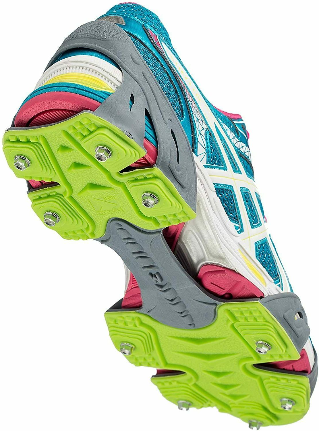 run traction ice cleats for snow