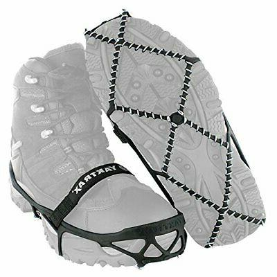 Yaktrax Pro Traction Cleats for Walking, Hiking and Ice,