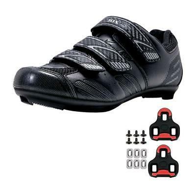 stage road cycling shoes with look keo
