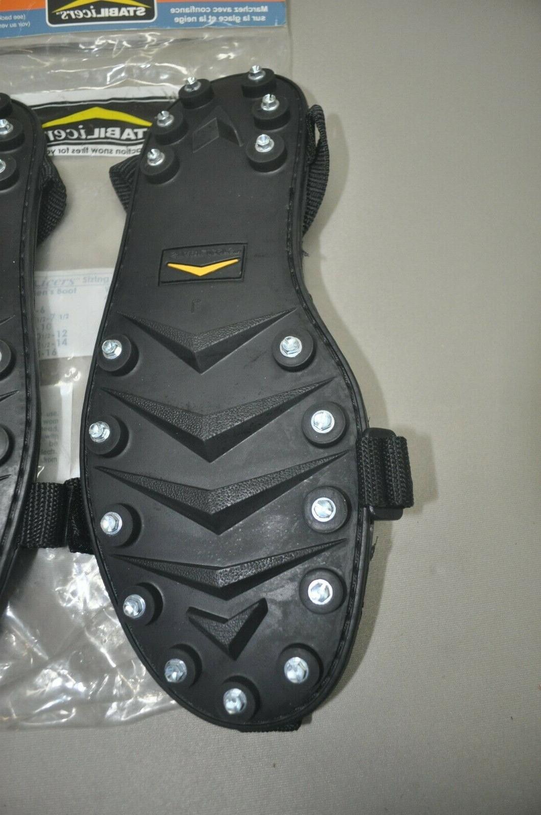 STABILICERS ICE CLEATS OVER LARGE 15-16 SNOW
