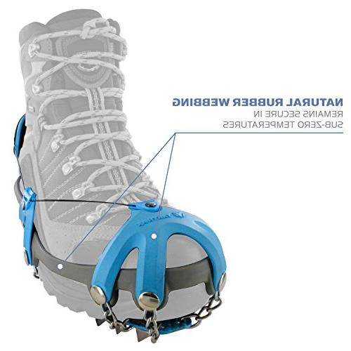 Yaktrax Summit Traction Carbon Steel for and Medium