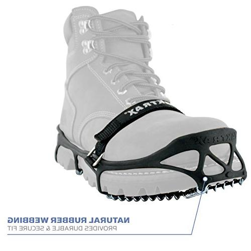 Yaktrax Pro Traction for or Hiking on Ice, Medium