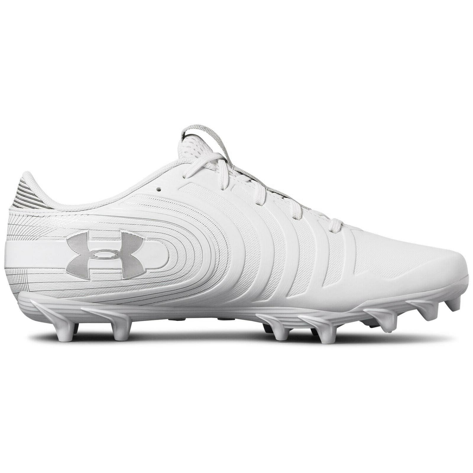 UNDER LOW Cleats - Silver PICK SIZE
